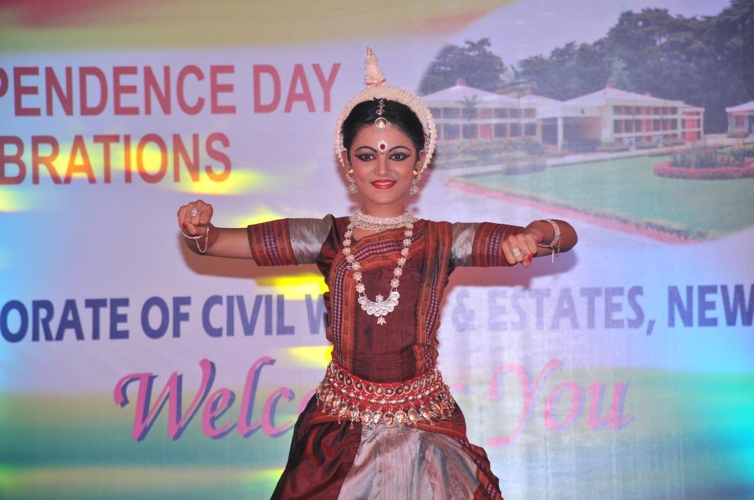 Dancing at DRDO in thepresence of high dignitaries