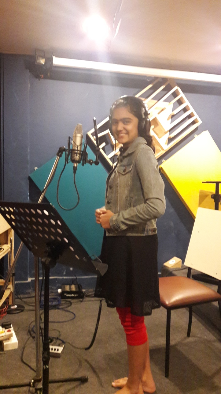 Recording for documentary movie by ISCKON
